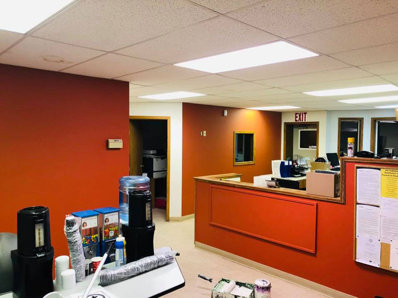 Interior Office Paint